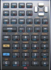 RPN_hp35キーボード