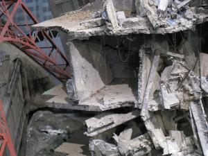 特撮博物館瓦礫